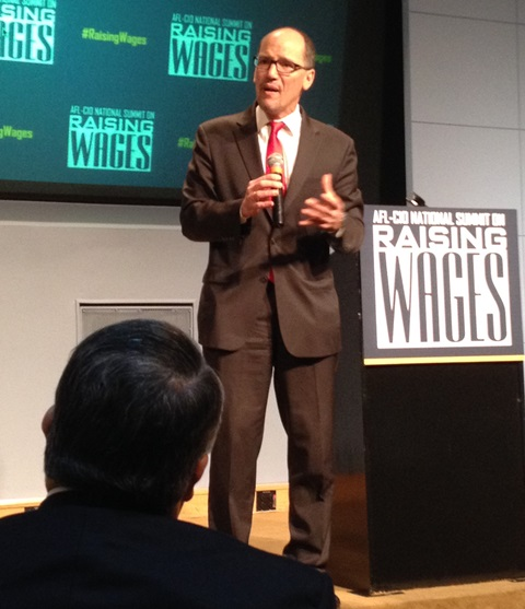 Labor Sec Thomas Perez declares the White House will continue to fight for working families.