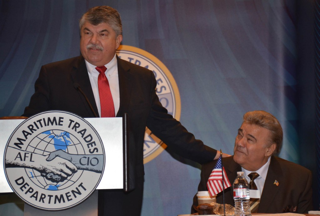 AFL-CIO Pres Richard Trumka reflects on his longtime association and friendship with MTD Pres Michael Sacco.