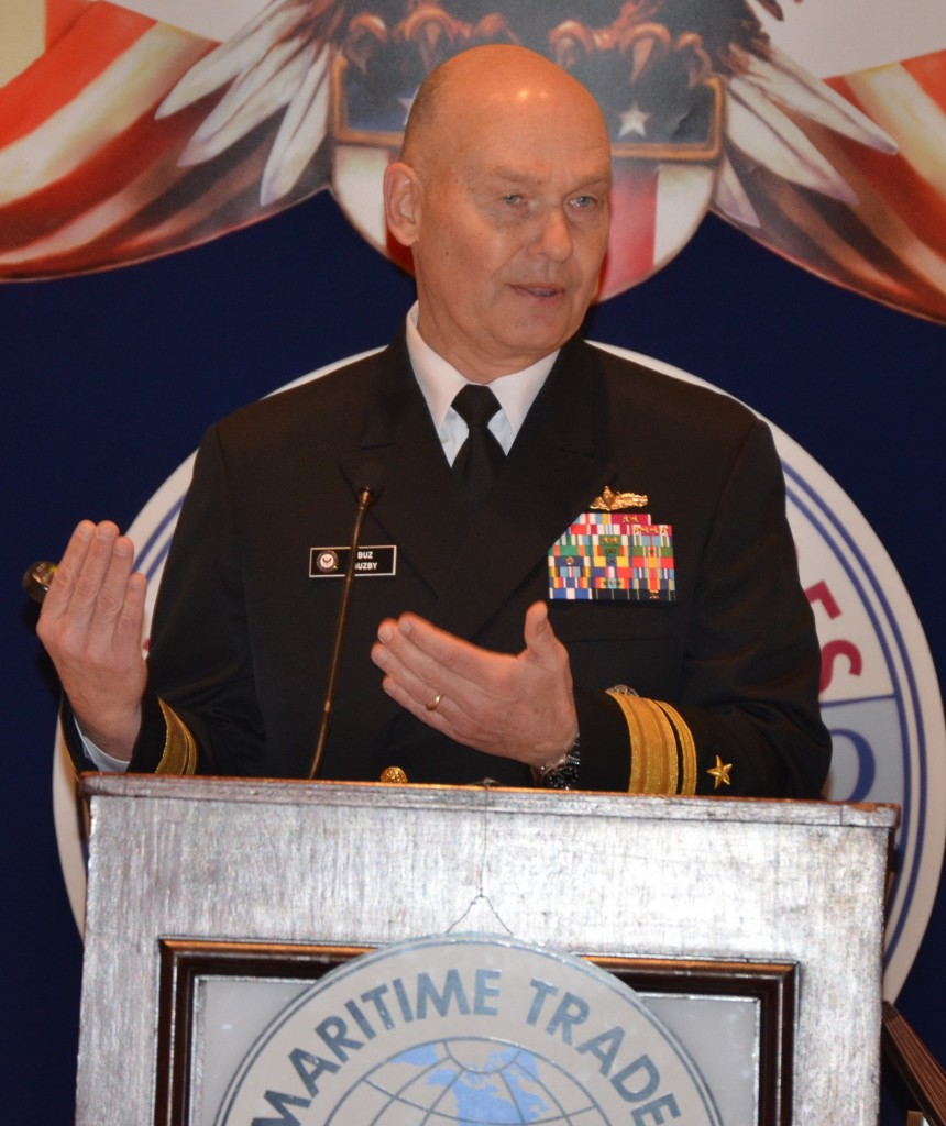 Recently nominated to head MarAd, RADM Mark Buzby (USN, ret) has spoken several times to the MTD Executive Board.